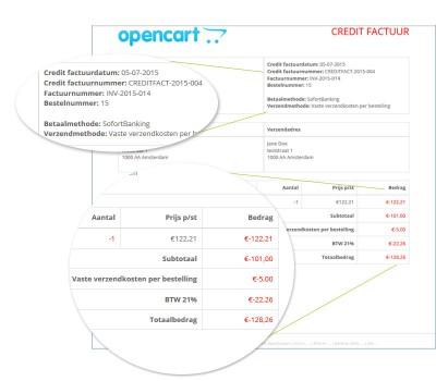 Credit facturen v2.0.0.0 - v2.1.0.1