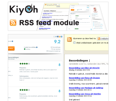 Kiyoh RSS feed