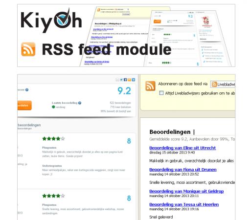 Kiyoh RSS feed