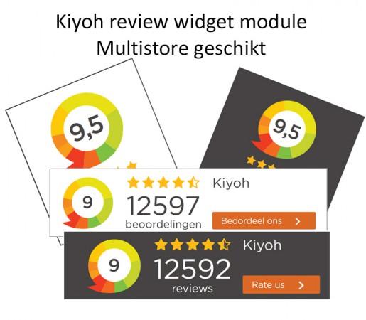 Kiyoh widget module v3x
